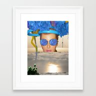 Submision 101 - Artifici… Framed Art Print