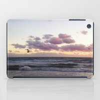 Sunset and Seagull iPad Case