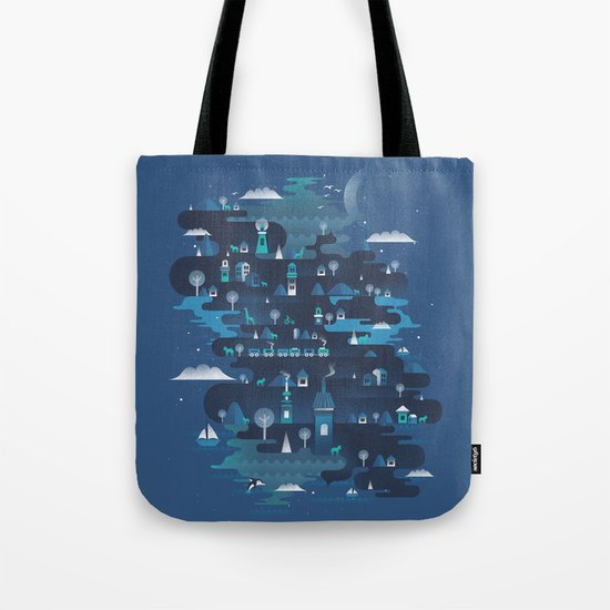 Land of the Blue Mountains Tote Bag