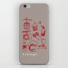 kitchen vintage iPhone & iPod Skin