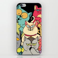 Cat Gang iPhone & iPod Skin