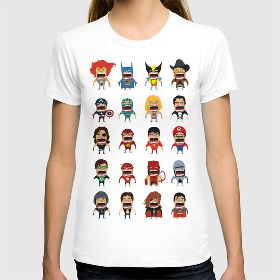Screaming Heroes T-shirt