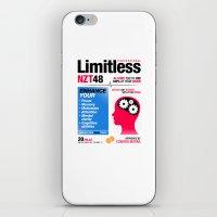 Limitless NZT 48 Pill Ex… iPhone & iPod Skin