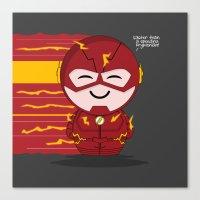 ChibizPop: Faster Than..… Canvas Print