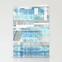 Sky Scraped Stationery Cards