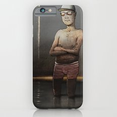 Man in the river iPhone 6 Slim Case