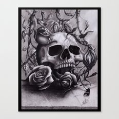 Faint Expression of the Unremembered Canvas Print