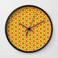 Vandenbosch Yellow Wall Clock
