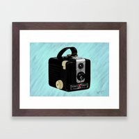 Brownie Camera Framed Art Print