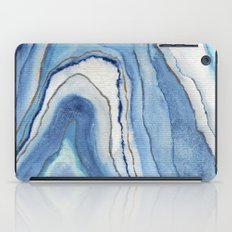 AGATE Inspired Watercolor Abstract 02 iPad Case