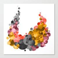 Cradle & Moon Canvas Print