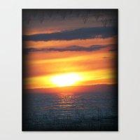 UP Sunset Canvas Print