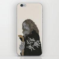 Alan Moore iPhone & iPod Skin