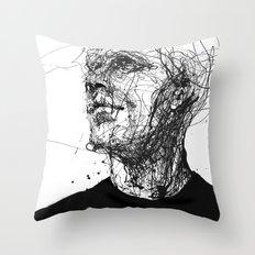 Frail Lull Throw Pillow