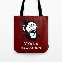VIVA LA EVOLUTION Tote Bag