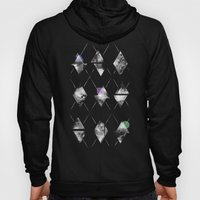 Space Argyle Hoody