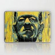 Laptop & iPad Skin featuring Frankenstein by Nicebleed