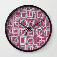 Picture Frames Aplenty F… Wall Clock