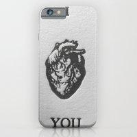 iPhone & iPod Case featuring I heart you by SophiaRoe