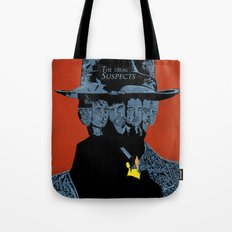 The Usual suspects Tote Bag