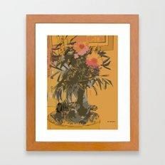 Florero Framed Art Print