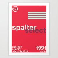 spalter select single hop Art Print