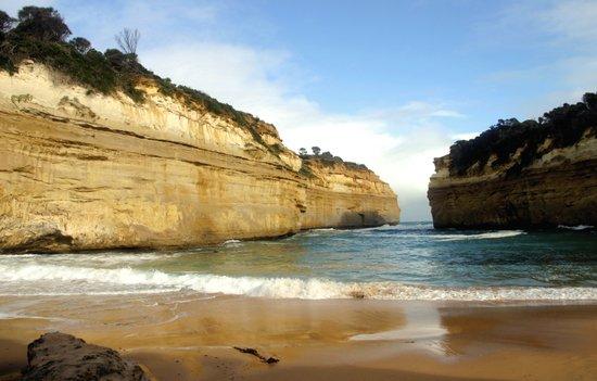 Gigantic Cliffs of the Ocean Art Print