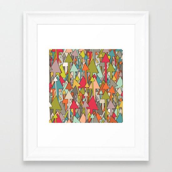 earth up Framed Art Print