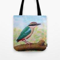 Fairy Pitta Tote Bag