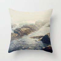 Ocean state Throw Pillow