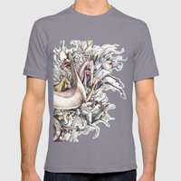 Twisted Menagerie Mens Fitted Tee Slate SMALL