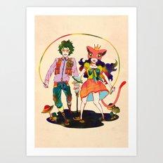 LSD love Art Print