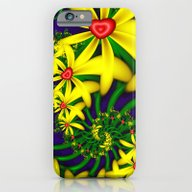 Hearts & Flowers iPhone 6 Slim Case