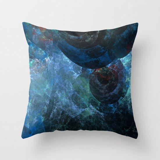 Beneath The Sea Throw Pillow