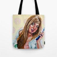 American Woman Tote Bag