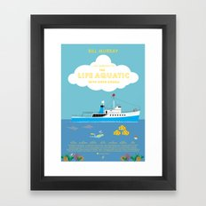 The Life Aquatic with Steve Zissou Movie Poster Framed Art Print