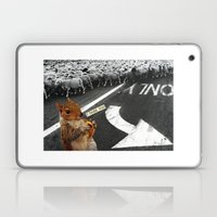You Don't Have To Follow The Crowd Laptop & iPad Skin