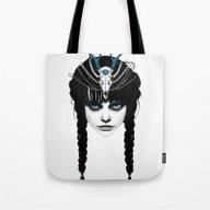Wakeful Warrior - In Blu… Tote Bag