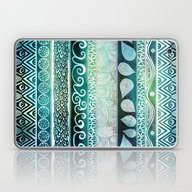Laptop & iPad Skin featuring Dreamy Tribal Part VIII by Pom Graphic Design