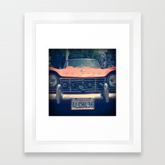 Vintage Triumph Framed Art Print