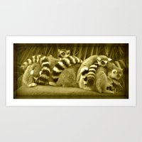 Tails Art Print