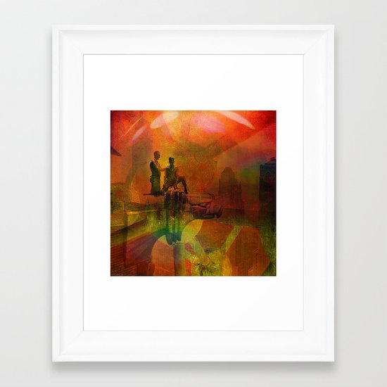 Avant-gardist construction Framed Art Print