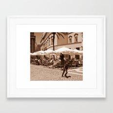 Spanish Center Framed Art Print