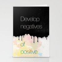 Develop Negatives Of Pos… Stationery Cards