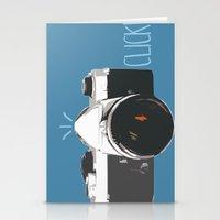 Click! - camera Stationery Cards