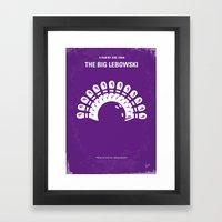 No010 My Big Lebowski Mi… Framed Art Print
