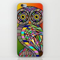 Owl iPhone & iPod Skin