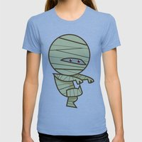 Have you seen my Mummy? Womens Fitted Tee Athletic Blue SMALL