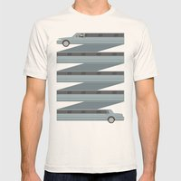 Stretched Out  Mens Fitted Tee Natural SMALL