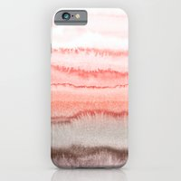 iPhone & iPod Case featuring WITHIN THE TIDES CORAL DAWN by Monika Strigel